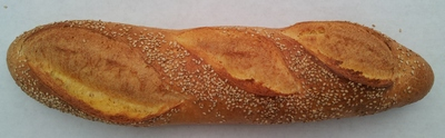 Sesame Semolina Bread made with in New York with New York Water